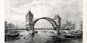How Tower Bridge Almost Looked