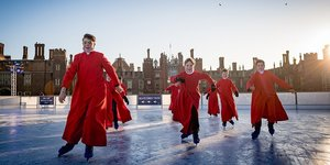 Skate Like Royalty At Hampton Court Palace's Festive Ice Rink