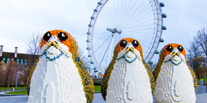 Lego Porgs From Star Wars Cropping Up In London