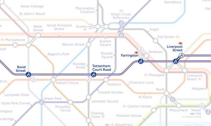 Map Of Crossrail A First Look At The Tube Map, With Added Crossrail | Londonist
