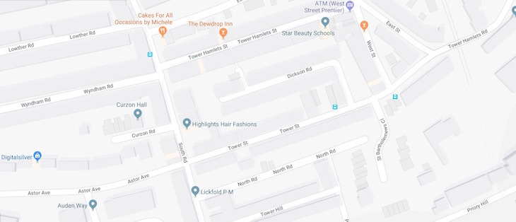 Image Result For Google Maps Of Houses