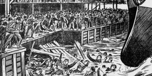 London's Forgotten Disasters: Gigantic Wave Kills 35