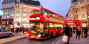 London Buses Now Tell You They're About To Move... While Moving