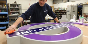 The Crossrail Roundels Are Being Installed... Here's What They Look Like