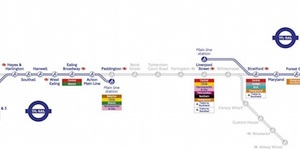 New Crossrail Maps Show Which Parts Will Open First