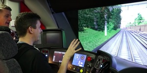 Driving The Crossrail Simulator