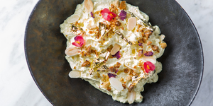 Blue Cheese Naan And Smoked Aubergine Mathri: Vegetarian Dishes Steal The Show At Indian Accent