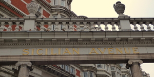 London's Italian Street: Sicilian Avenue