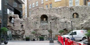 A Secret Bit Of London's Roman Wall You Can Actually Walk Through