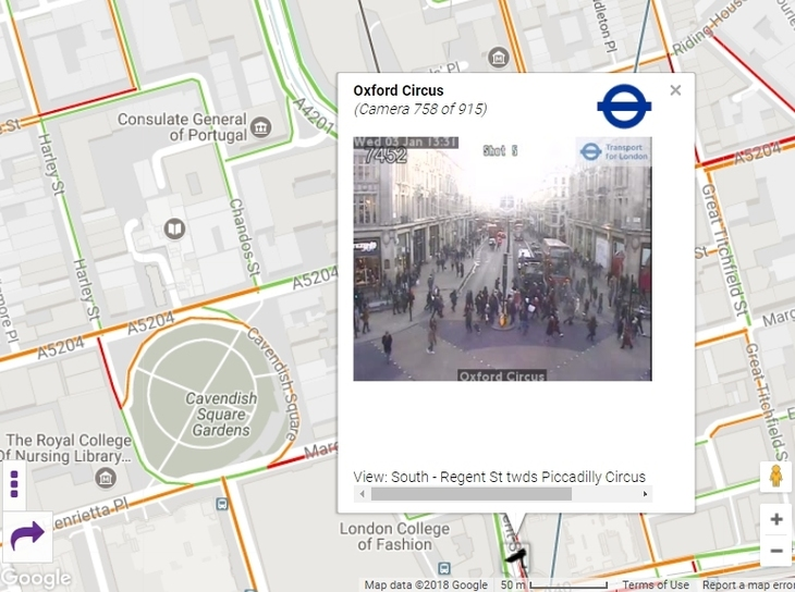London Map Live.An Interactive Live Traffic Map Of London Londonist