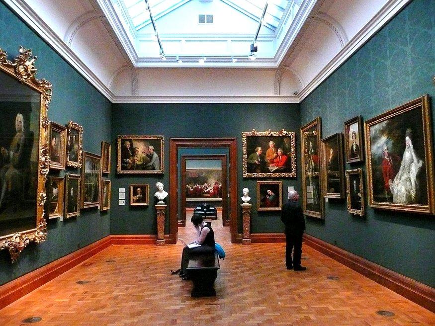 National portrait gallery cafe london