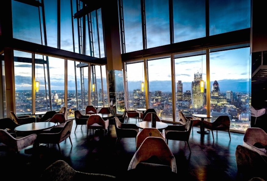 London's 14 Highest-Up Restaurants