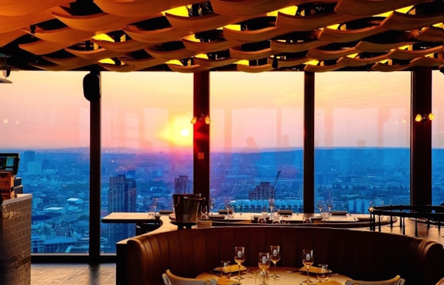 Duck And Waffle: best brunch places with a view in London