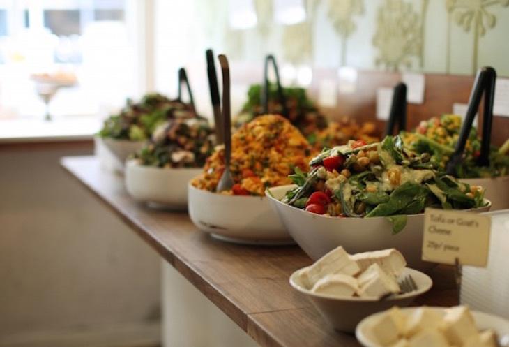 Mildreds vegetarian restaurant London