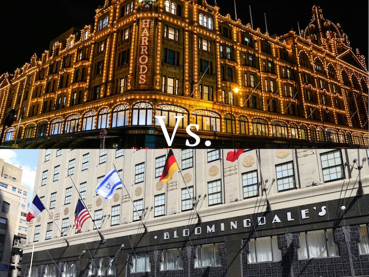 8d1dfa50507e1 Bloomingdale's has three stores in NYC, but we're focusing on the flagship,  Bloomingdale's 59th Street. Harrods has longevity on its ...