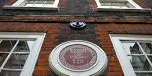 There's Only One Official Blue Plaque In The Square Mile... And It's Not Blue