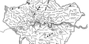 This Artist Created An Incredibly Detailed Hand-Drawn Middle Earth Map Of London