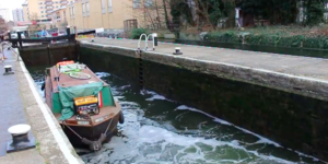Ever Wondered How Canal Boats Move Upstream In London?
