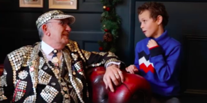 See How Our Young Reporter Fares With A Cockney Slang From A Pearly King