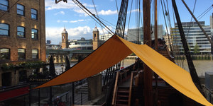 Have You Spotted This Replica Of Sir Francis Drake's Ship?