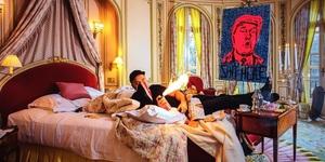 London Artist Creates Portrait Of Donald Trump... Using His Own Faeces