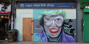 Theresa May: London's Unlikely Street Art Icon