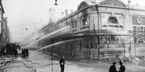 The Tragic Fire That Engulfed Smithfield Market For Three Days