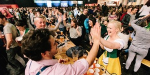 The UK's Largest German Bier Festival Is Coming To Ally Pally This Easter