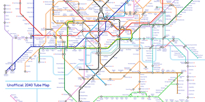 This Is What The Tube Map Could Look Like In 2040