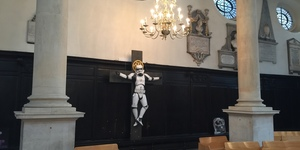 Crucified Stormtrooper Removed From London Church