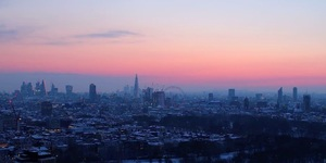 Watch The Snow Sweep Into London In This Beautiful Timelapse Footage