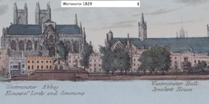 Map Lets You Sail Along The Thames In 1829