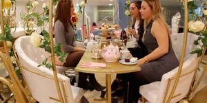 An Afternoon Tea Fit For Royalty - In A Cinderella Carriage