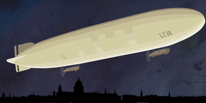 Was Your Street Damaged In London's First Zeppelin Raid?