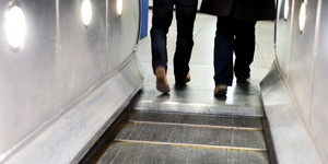 Why Do People Just STOP At The End Of Escalators?