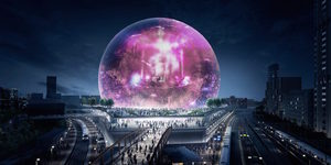 Imagine Going To A Concert Inside This Futuristic Glass Ball