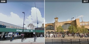Street View Before And After: King's Cross