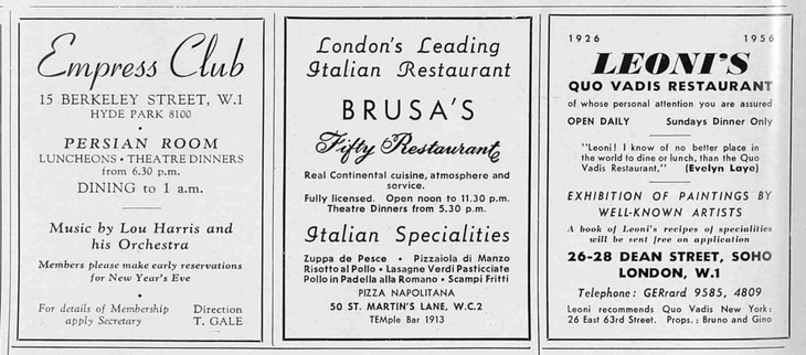 Where Was London's First Pizza Restaurant? | Londonist