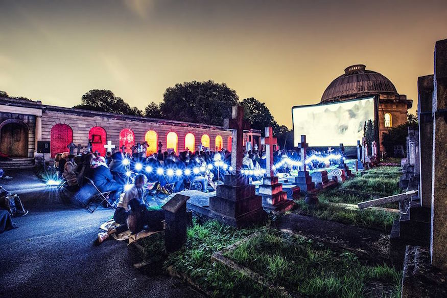 Image result for outdoor cinema