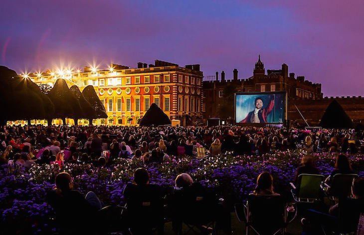 Luna Cinema, pop-up cinema is a great Mother's Day idea