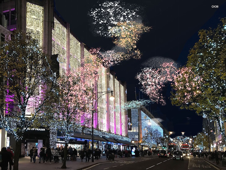 Revealed: What This Year's Oxford Street Christmas Lights Could Look Like - Revealed: What This Year's Oxford Street Christmas Lights Could Look