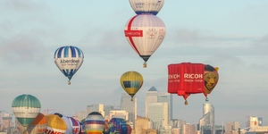 Dozens Of Hot Air Balloons To Sail Over London This Weekend?