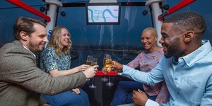 The Cable Car Is Now Serving Champagne
