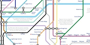 A Tube Map That Never Happened, Based On Plans From The 1940s