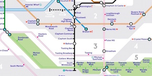 The Tube Map, Redesigned By A Tooting Resident