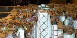 The Famous London Skyline Has Been Recreated In Miniature Detail