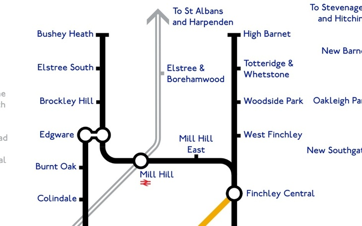 Northern Line Map A Tube Map That Never Happened, Based On Plans From The 1940s  Northern Line Map