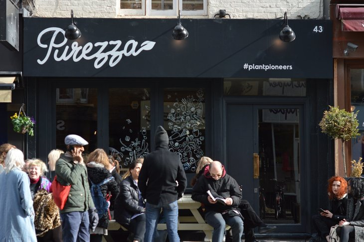 Camden Gets More Fantastic Vegan Food With New Pizza Joint