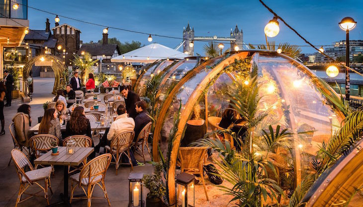 Image result for Coppa Club Tower Bridge paradise pods
