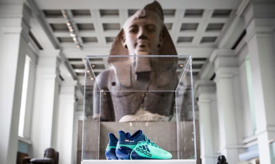 Salah's Boots Become Museum Exhibit